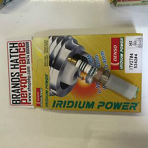 4x Genuine Denso IRIDIUM ITV27 Spark Plugs FOR MK1 RS FOCUS
