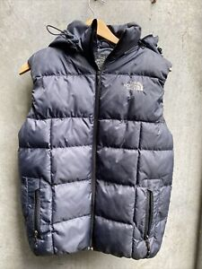 NORTH FACE 🐧 Summit ~ ( Medium Women ] Vest+ HOOD ~  DOWN PUFFER VEST  • AS NEW