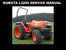 Kubota L3200 Workshop Service Manual 320pg with L 3200 Tractor Hydraulic Repair