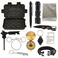 12PCS Emergency Survival Kit Sports Equipment Tactical Outdoor Camping Tool