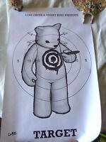 Zeichnung Passt Luke Chueh Target Auf Poster Signiert Mit Der Hand