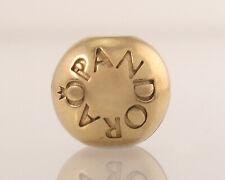 Pandora Estate Solid 14k Yellow Gold G 585 ALE Retired Bracelet Charm 3.2g