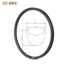 Hookless 650B Carbon MTB Bike Rim 30mm Wide tubeless 27.5 Inch Mountian Rim