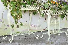 Blumenständer Metall Blumenkasten Pflanzengefäss Pflanztreppe Blumentreppe Antik