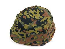 Repro Reversible WWII German M35 Helmet Cover Spring W Fall Oak Camo Color