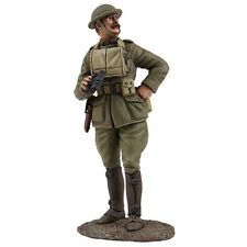 W Britain 23105 US Officer With Binoculars 1/30 Scale Collectible Toy Soldier