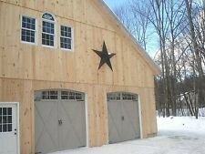 Authentic Tin USA AMISH-made BARN STAR - 6 ft. Special Order