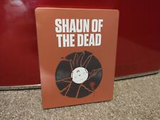 Shaun of the Dead (Blu-ray Disc, 2014, Limited Edition steel book)