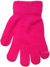 db1dbc806 GL102 RJM Synthetic Childrens Neon One Size Magic Gloves Green