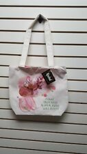 Harriet Rosebud Tote Bag/Purse Plant True Seeds & Your Roses Grow Eco-Friendly