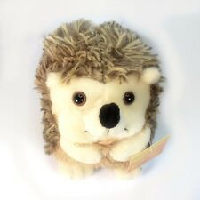 "7"" Hedgehog Soft Plush Toy Stuffed Animal Suction Cup NEW Cute Baby"