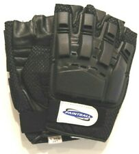 Armored Gloves - Hard Back / Fingerless - X-Large