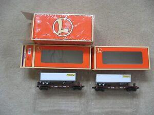 O Scale Lionel #6-36026 J.B. Hunt Two Pack - Asst F/C w/Trailer