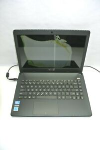 """ASUS X401A-BCL0705Y 14"""" Celeron 100M 4GB RAM No HDD - Powers Up, Damaged LCD"""