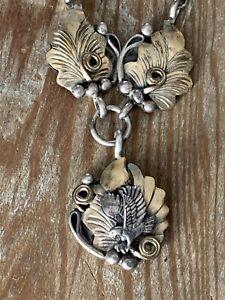 "20"" RICHARD BEGAY Navajo Sterling Silver  Necklace,Southwest Native"