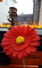 13cm red Gerbera Flower VW Car Vent Vase Car Beetle T2 T25 T4 T5  Van