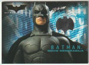 BATMAN BEGINS TOPPS COSTUME MEMORABILIA PROP CARD CHEST PIECE CHRISTIAN PIECE