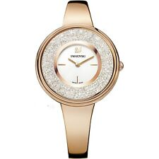 *NEW* SWAROVSKI CRYSTALINE PURE WATCH 5269250 ROSE GOLD TONE -NEXT DAY DELIVERY