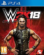 WWE 2K18 -  PS4 -  PLAYSTATION 4  - Sigillato  Nuovo