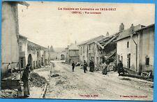 CPA: Crévic - Vue intérieur / Guerre 14-18 / 1918