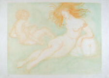 Leonor FINI S/N Lithography Nude woman Psyché 1974