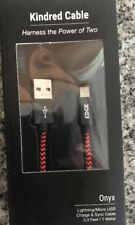Apple/Android Kindred Cable 2 In 1 Multifunctional Blue Alloy Or Red Onyx