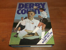 Book. Football. Derby County. Breedon. A Complete Record 1884-1988. 1st. HB.