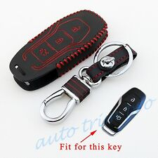 3 Buttons Key Shell Bag Ring Case Fob Cover For Ford Mendeo Fusion Mustang F150