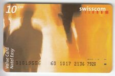 EUROPE TELECARTE / PHONECARD .. SUISSE 10FCH SWISSCOM ART MODERNE ORANGE +N°
