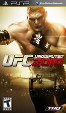 UFC Undisputed 2010 PSP New Sony PSP