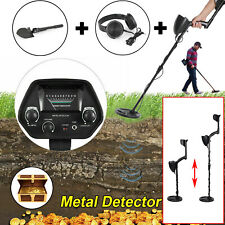 Shovel + Headphone + Metal Detector Gold Digger Hunter Deep Sensitive Waterproof