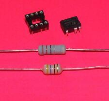 LNK304PN + IC Sockel + 22 Ohm 3W + 470µH, Reparatur Set Kit für AEG Bauknecht...