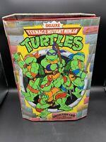 1990 Teenage Mutant Ninja Turtles Deluxe Collectors Case