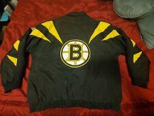 Vintage Boston Bruins NHL Apex One Jacket Coat - Size Large