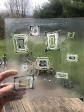 Large Studio-Made Square Glass Dish by Higgins