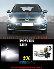 LUCI DIURNE DLR VW GOLF 7 2012- CANBUS PW24W BIANCO LED SUPER QUALITA