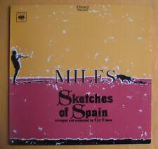 Miles Davis, orig Australian CBS pressing Lp- Sketches Of Spain