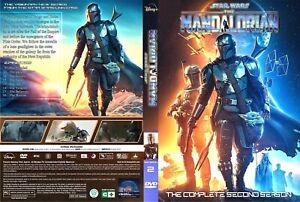 The Mandalorian Season 2 DVD, 8 Episodes(English Audio and Subtitles)