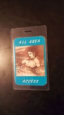 Madonna Like A Virgin All Area Access Backstage Concert Tour Laminated Pass