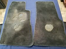 1984-1989 Nissan 300ZX Cutpile 2pc Factory Fit Floor Mats OEM 50th Anniversary