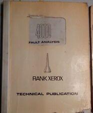 Antique Manual Service Xerox 4000