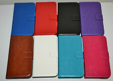 Genuine Leather Wallet Case Cover Stand for Samsung Galaxy S4 i9500 i9505 LTE 4G