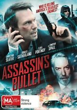 EX RENTAL ASSAINS BULLET DVD GUARANTEED CHRISTIAN SLATER ACTION DRAMA THRILLER