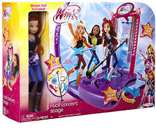 ✿WINX CLUB  Concert Stage Play Set with Doll