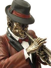 Jazz Musiker Trompete Skulptur Figur Trompeter *Le monde du Jazz*  20045B