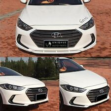 Front Bumper Skirt Lip Body Kit Painted For Hyundai Elantra (Avante AD) 2017+