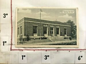 1950/60s Post Office Weirton WV Postcard PC Deckle Edge Unposted Dexter Press NY