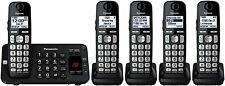Panasonic KX-TGE445B Expandable Cordless Phone System with Answering Machine