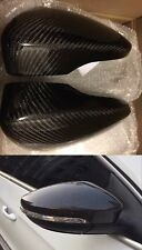 VW CARBON FIBER MIRROR COVERS For PASSAT B7 / CC /JETTA 2010+ / BEETLE 2 OEM-Fit