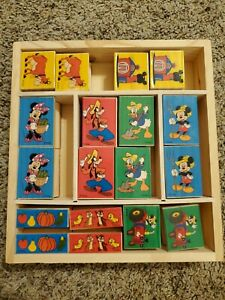 Melissa & Doug Mickey Mouse Clubhouse on the Farm Wooden Stamp Set UNUSED